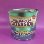health extension salmon canned dog food